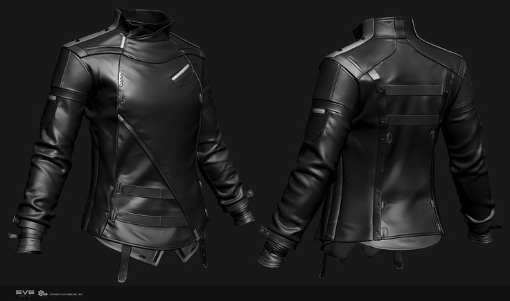 Concept and high-poly model for the EVE Online Character Creator. Done for CCP Games in 2014.  Most of the model was modeled in ZBrush after an initial pass on the Jacket done in Marvelous Designer.   I wrote an article/tutorial about the creation of this model titled 'Pattern Drafting For Custom Designs' which you can read in Vertex 3 from Art By Papercut - http://artbypapercut.com/