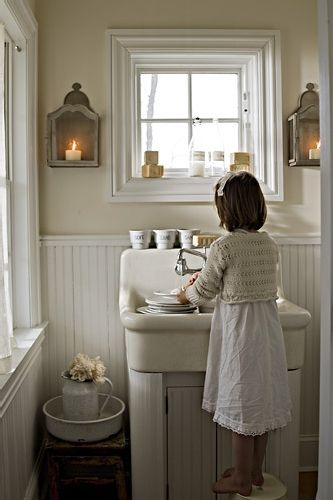 how to paint a kitchen sink 182 best country bathrooms images on bathroom 8788