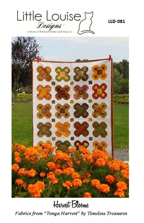 Looking for your next project? You're going to love Harvest Blooms by designer Jude Spero.