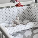 Little Sheep Cot Bed Bedding