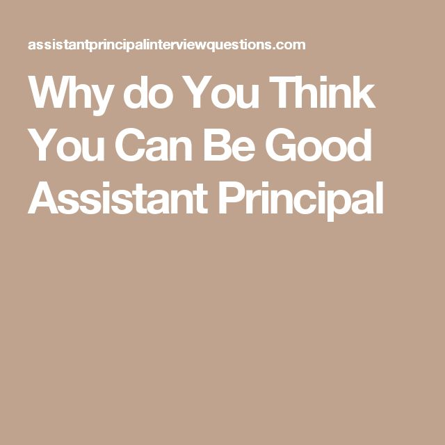 The 25+ best Assistant principal ideas on Pinterest Principal - good qualities for resume