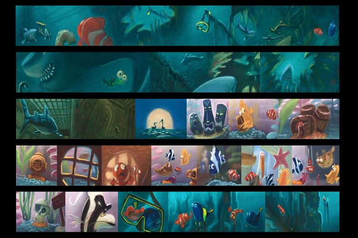 Pin by Simon Ong on Color scripts & storyboards | Disney ...