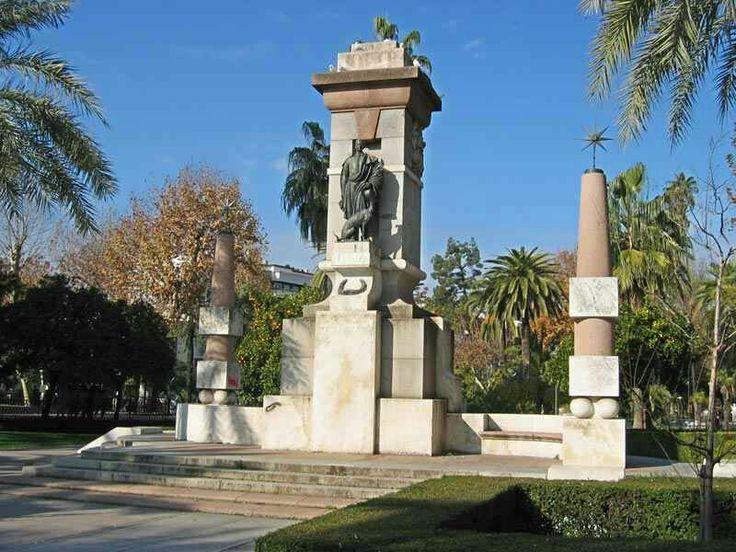 Monumento a Julio Romero de Torres. Córdoba
