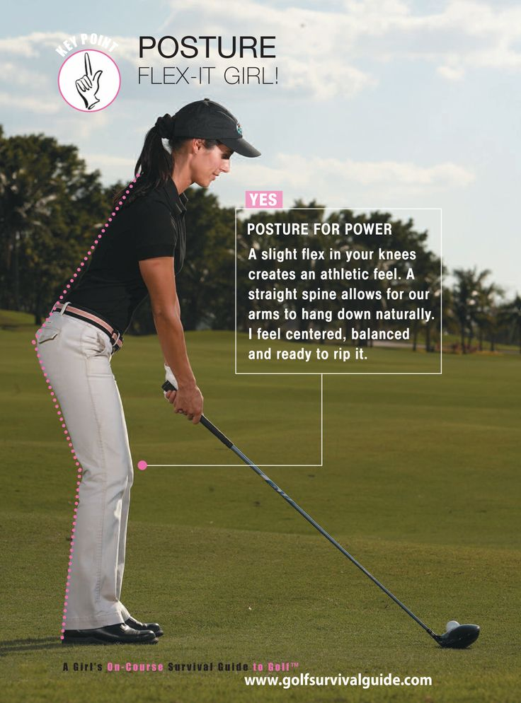 Golf Posture! #lorisgolfshoppe