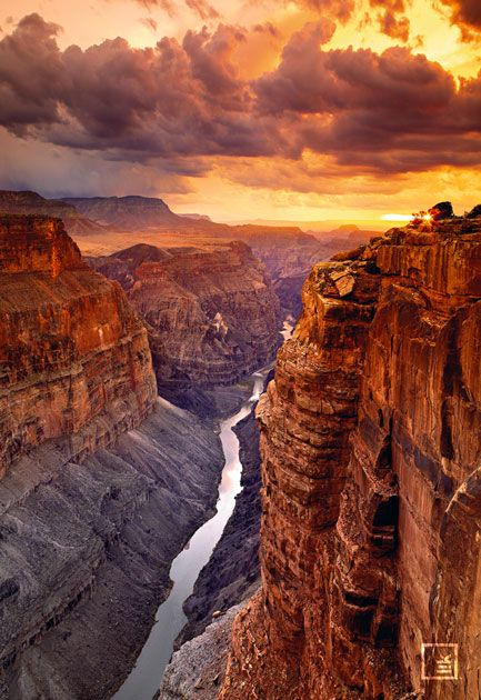 Grand Canyon. This is my #1 place to go in the continental U.S. And it has to be on a road trip out west with my love.