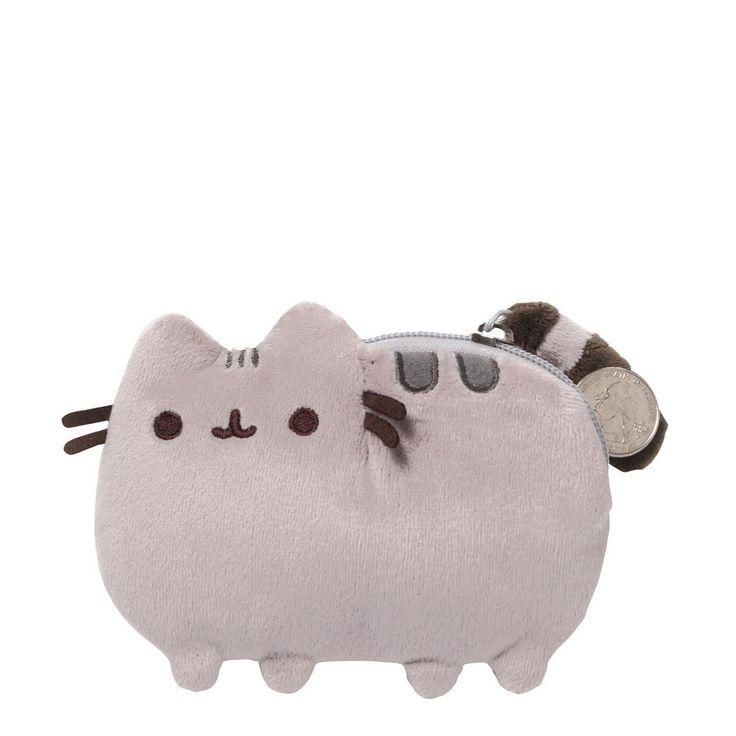 """Pusheen The Cat 5"""" Plush Coin Purse"""