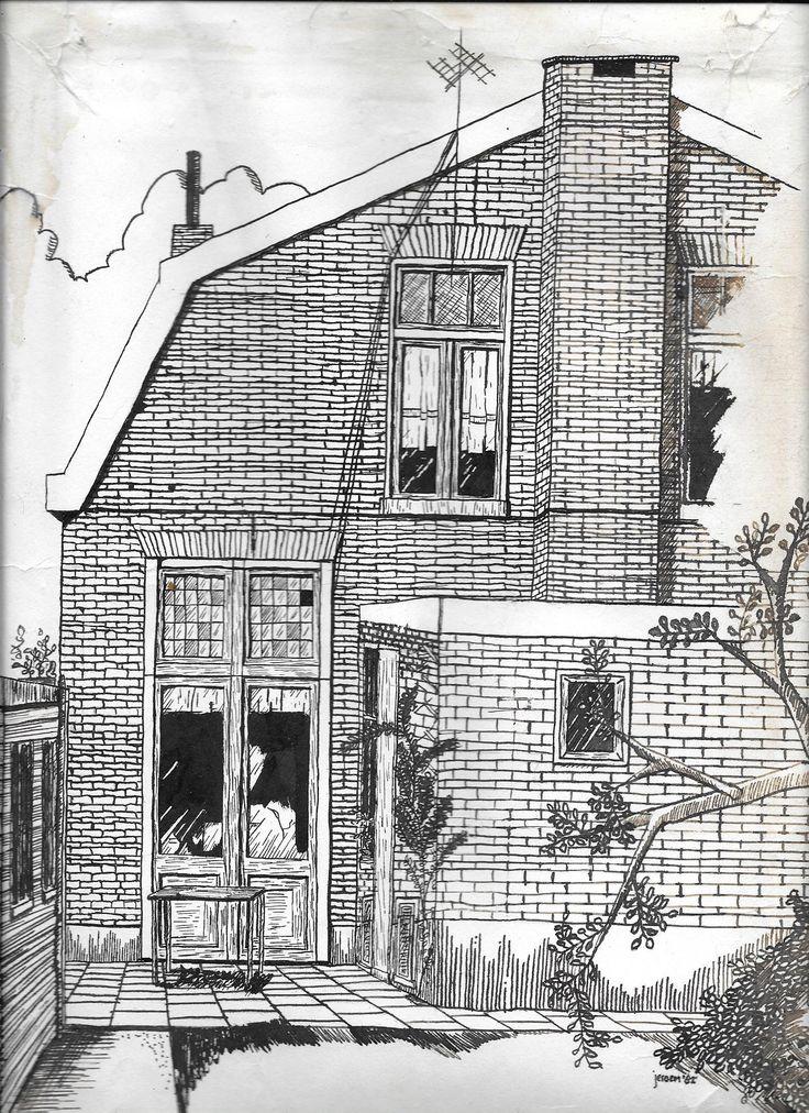 Haven NZ 91, Almelo (huis van opa en oma Engberts)