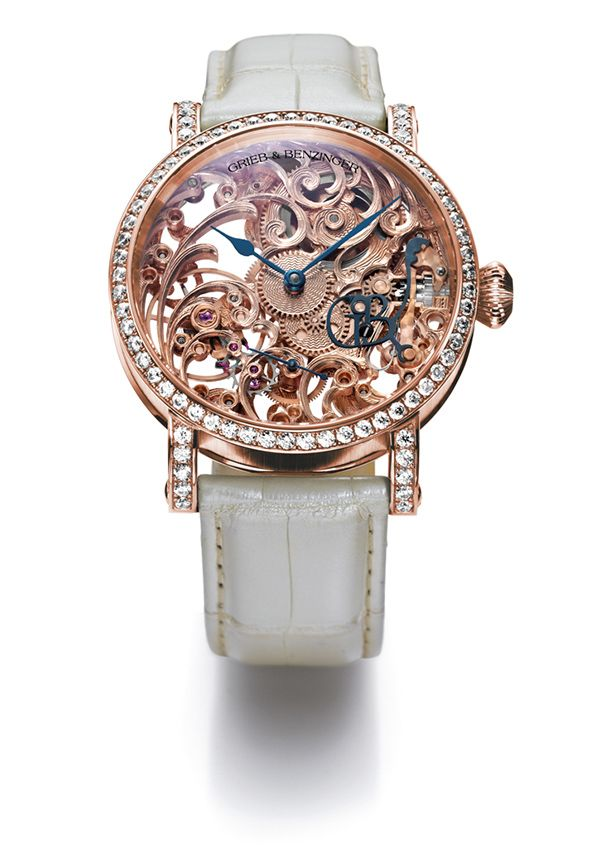 Grieb & Benzinger - skeletonized watches for women - News