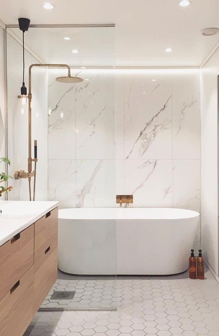 47 Inspiring Bathroom Remodel Ideas You Must Try Bathroom Interior Design Bathroom Design Modern Master Bathroom