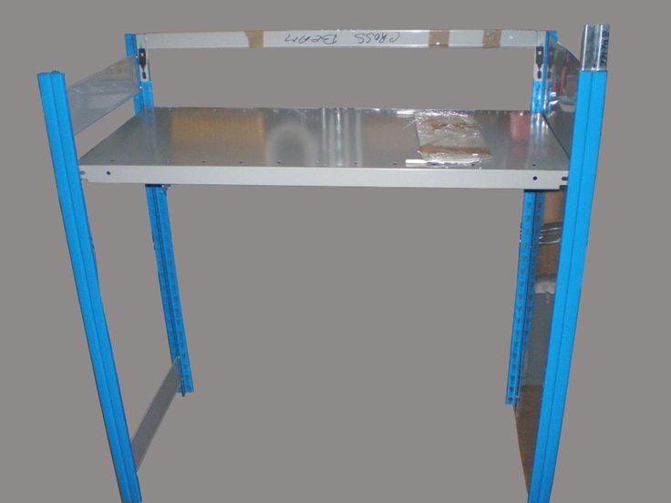 boltless shelving, with side panel and back bar, more items @ LinkupSE