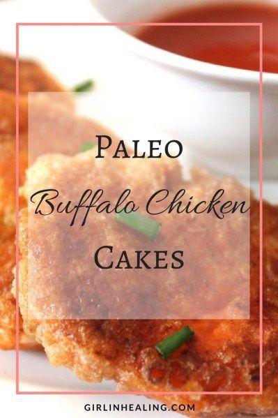 Paleo Buffalo Chicken Cakes