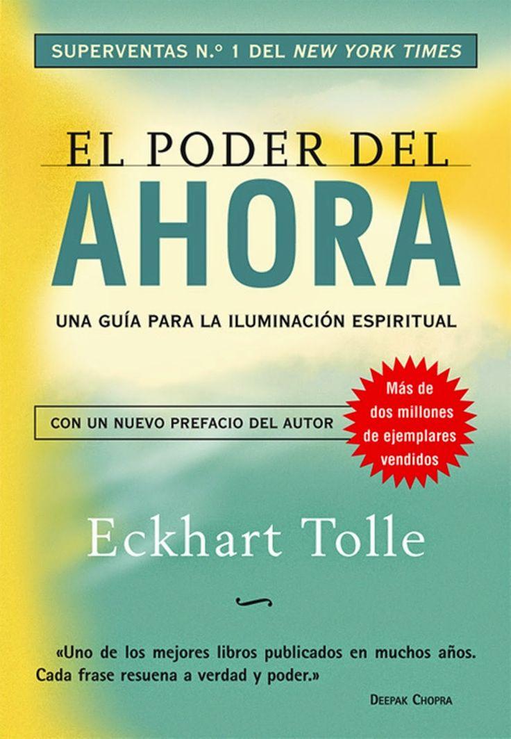 """""""El poder del ahora"""" de Eckhart Tolle."""