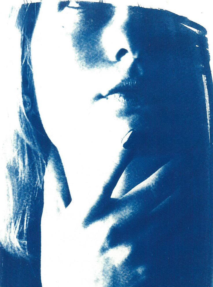 Digital Photography + Cyanotype print
