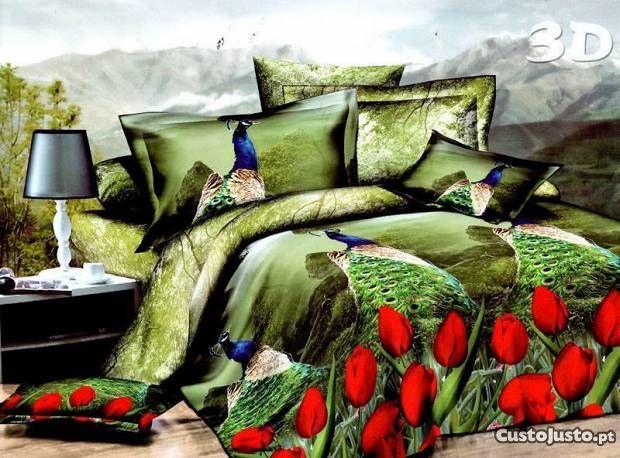 Roupa de cama efeito 3D