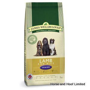 James Wellbeloved Grain Free Lamb Vegetable Senior Dog Food 1 5kg James Wellbeloved Grain Free Lamb Vegetable Senior Dog Food has been designed with  the older dog in mind.