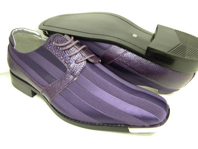 Purple Passion Mens Dress Shoes