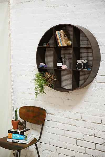 Round Curiosity Shelf - Urban Outfitters