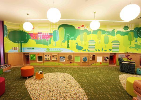 Boston Public Library Children's Area