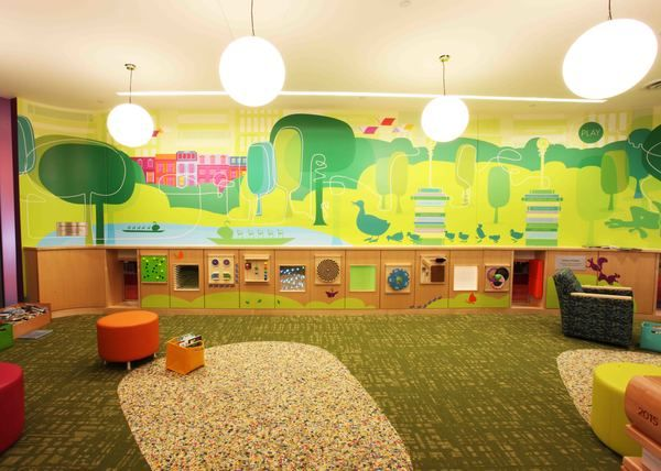 Boston Public Library Children's Area