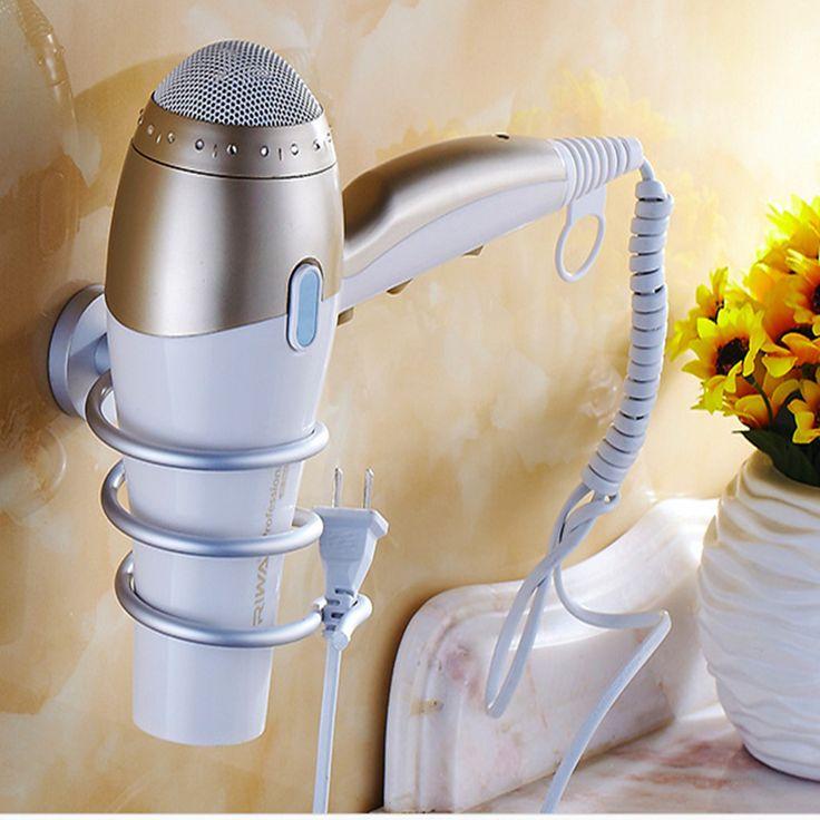Aliexpress.com: Comprar Nueva actualización secador de pelo titular estante de la pared secador de pelo Rack de almacenamiento organizador accesorios de baño de baño accesorio colecciones fiable proveedores en Ming Qing Technology Co., Ltd.