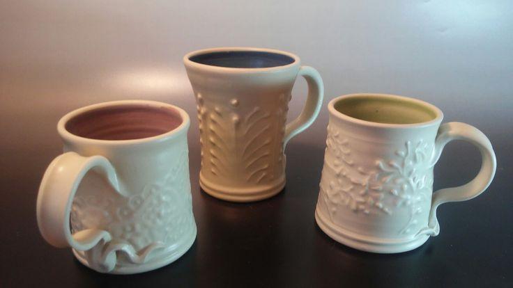 Mugs www.facebook.com/patsy.oconnell.pottery