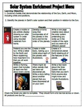 4th Grade Solar System Test (page 2) - Pics about space
