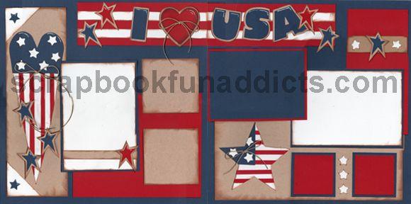 : Scrapbook Ideas, Holidays Scrapbook, Scrapbook Fourth, Scrapbook Funaddict, Scrapbook 4Th, Scrapbook Holidays, July Patriots Scrapbook, 4Th Scrapbook, July Scrapbook