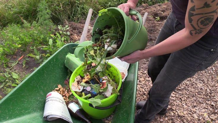 Bokashi-kompost på kjøkkenet