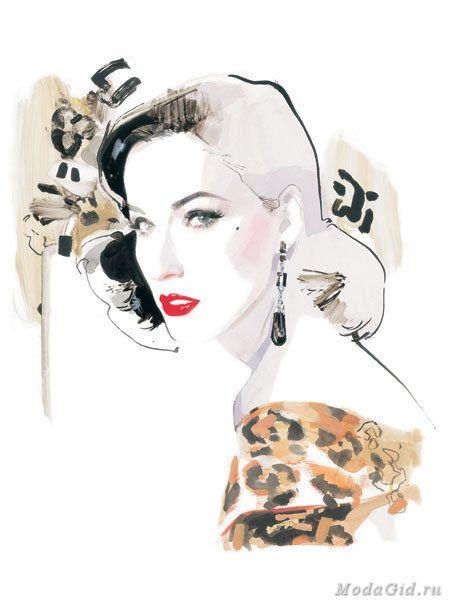 Знаменитости: Модный иллюстратор Дэвид Даунтон