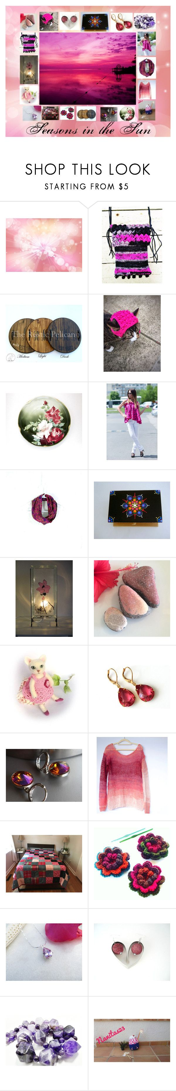Seasons in the Sun: Handmade & Vintage Gift Ideas by paulinemcewen on Polyvore featuring interior, interiors, interior design, ev, home decor, interior decorating, rustic, vintage and country