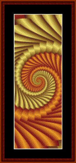 Click to view FREE Fractal counted cross stitch pattern! march 2012 only