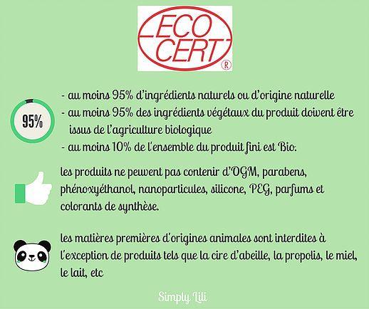 Comprendre les caractéristiques du label Ecocert