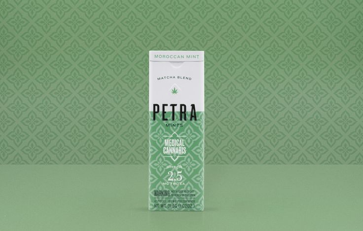 Petra Mints —Cannabis branding & Packaging for Kiva Confections