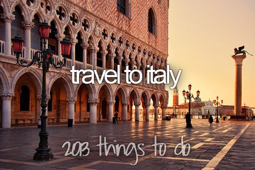 bucket list: travel to italy... CHECK!