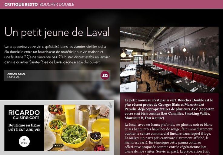 Boucher Double: un petit jeune de Laval - La Presse+