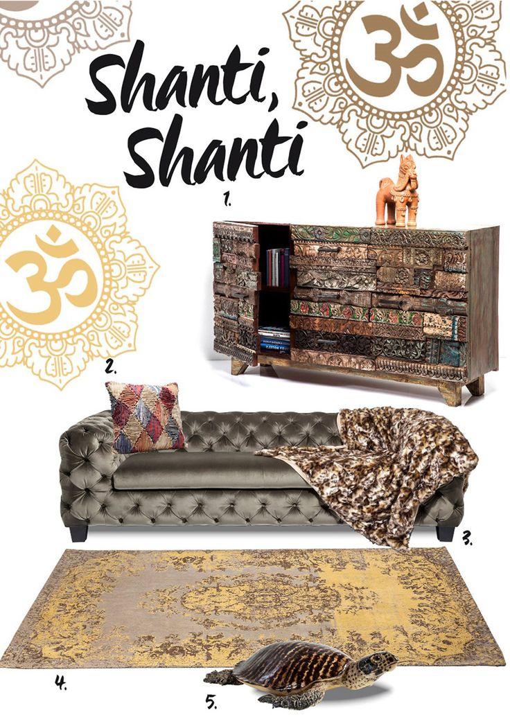 Shanti – mistyczna historia prosto z Indii — Blog — KARE® Design