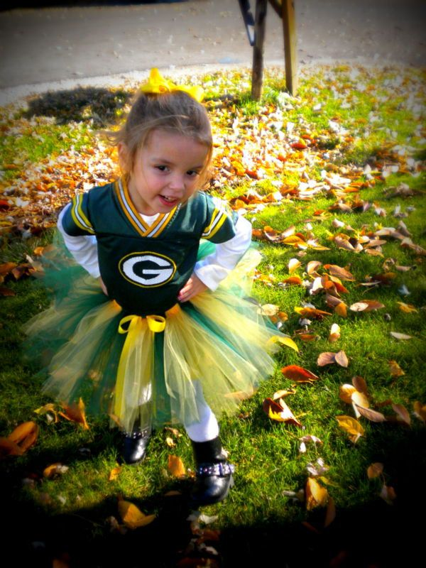 Custom Sports Tutu Green Bay Packers by SweetPeasCommuniserv, $19.00