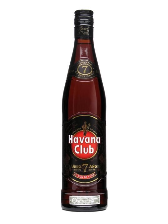 Havana Club 7 Year Old Rum / Anejo