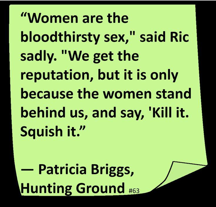 ♥ Patricia Briggs ♥ ~ #Quote #Author #Humor