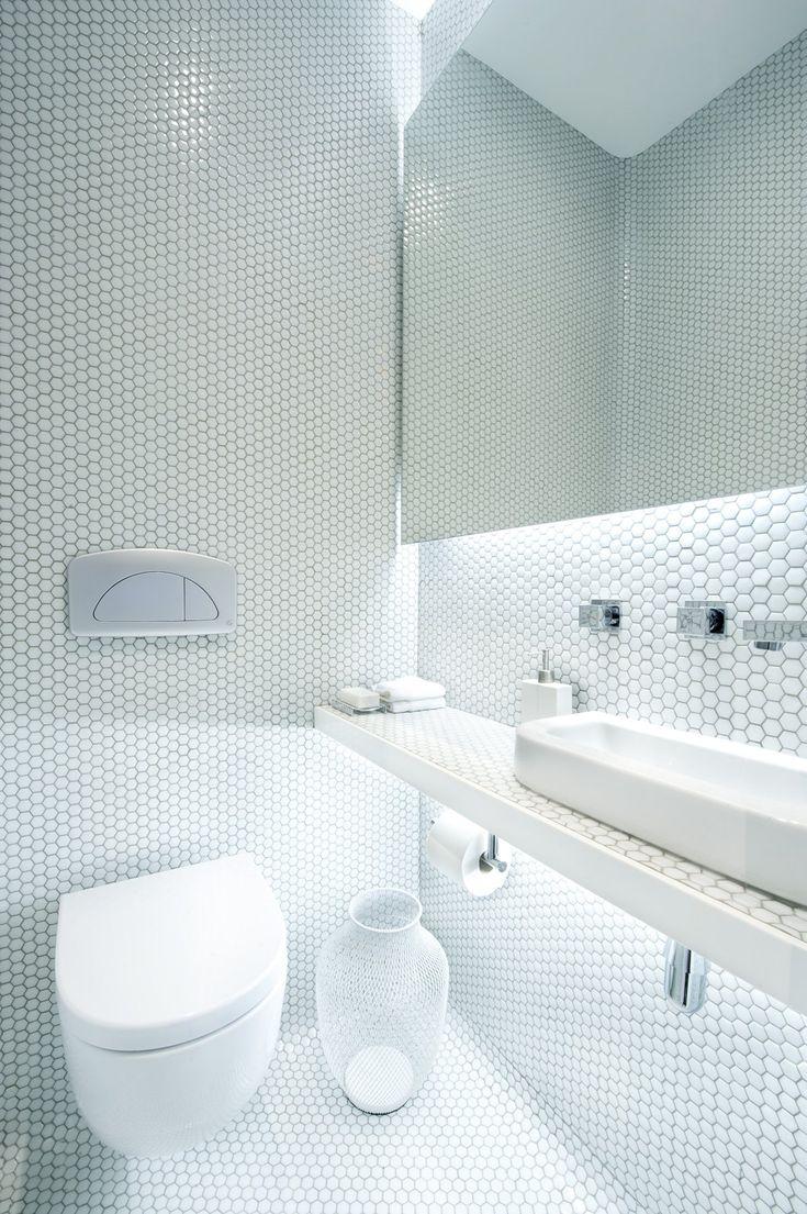 Best Penny Round Tiles Images Onbathroom Ideas