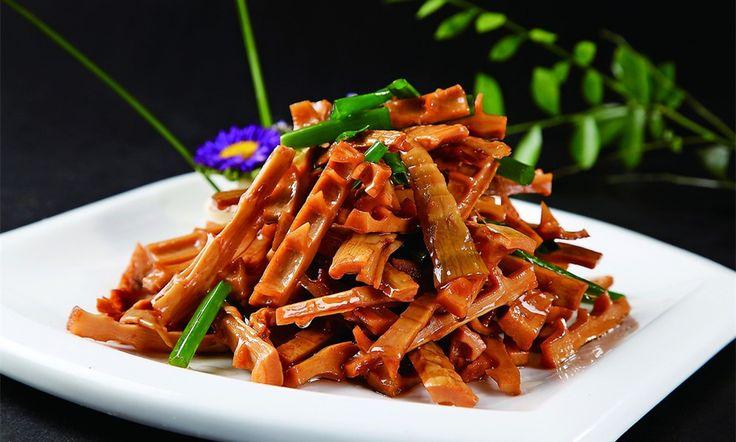 Pousses de bambou brais es est un plat traditionnel de la for Apprendre cuisine chinoise
