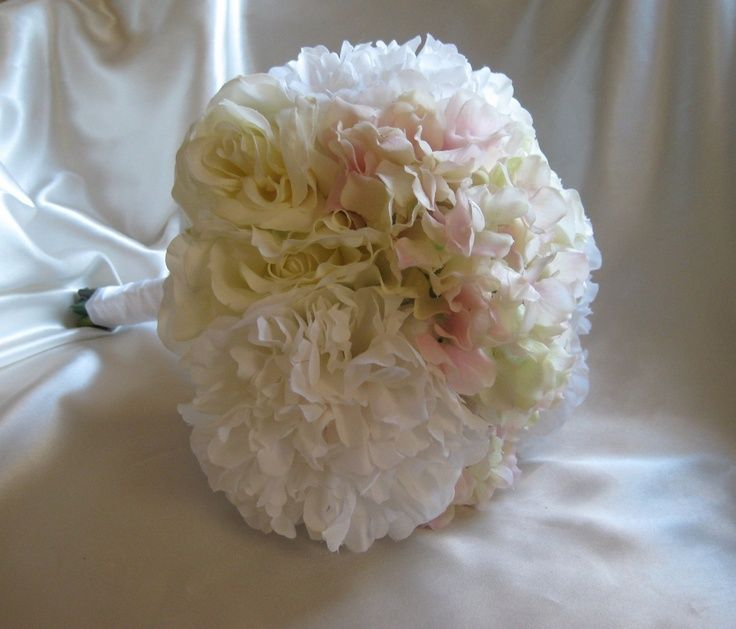 Peonies And Hydrangeas Wedding Bouquet Wedding Bouquet