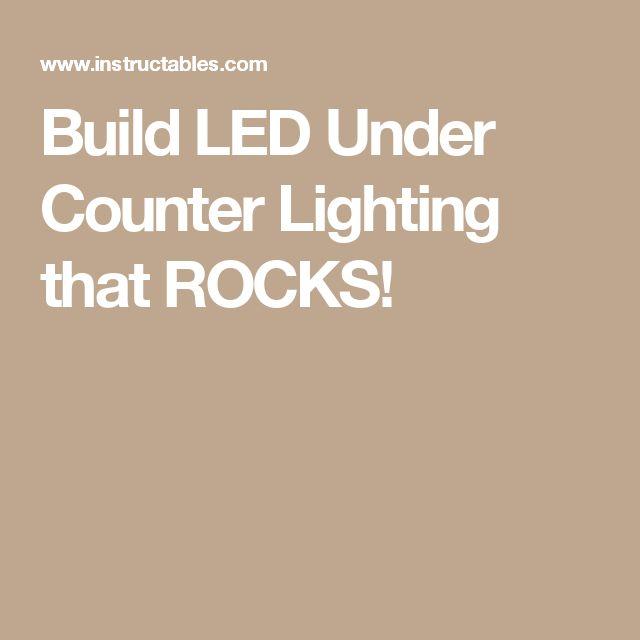 25+ best under counter lighting ideas on pinterest | diy cabinet