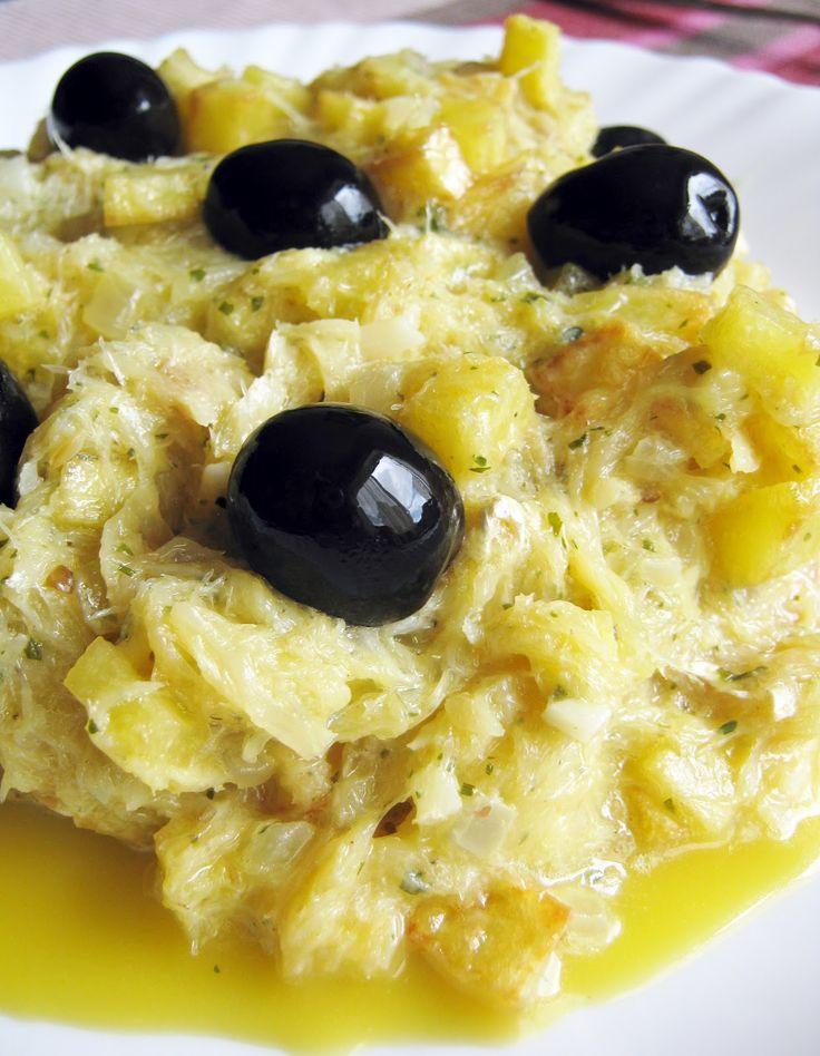 Conoce las maravillas de la cocina portuguesa: Bacalhau à Brás