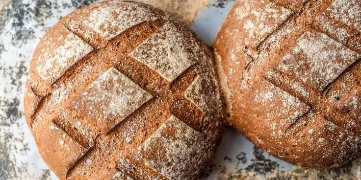 Russell Brown uses a blend of flours to create a lighter-textured rye bread than most, but packs in intense flavour by using a rye starter