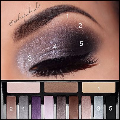 Makeup by Lis Puerto Rico Makeup Artist and Beauty Blog   Sexy Fifty Shades of Grey Inspired Valentine's Day Makeup - Kat Von D Innerstellar Palette House of Lashes in Starlet