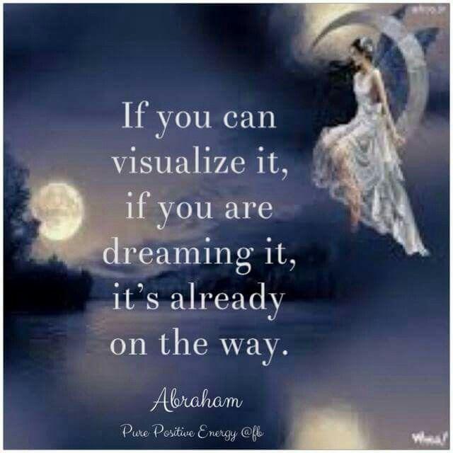 Visualize, dream