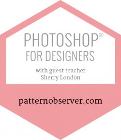 It's finally that time of year again! Registration for Photoshop Designers 1 and Photoshop Designers 2 opens next week (August 15th) and will be available at an intro price of $199 for one week only before the price increases to $299. These exciting workshops are taught by the amazing Sherry London and dive deep into Photoshop's countless options, tools, and settings that can open up a world of opportunity for designers.