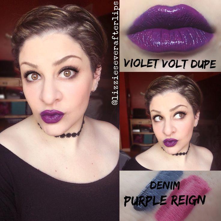 Violet Volt Dupe LipSense Glossy Gloss purple reign lipsense denim Shadowsense Opal Gloss