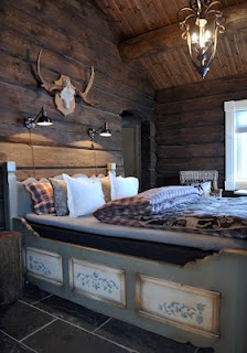 "NorefjellHytta, Norway ""excellent wood finish"" creates the right atmosphere i'd want for the ideal bedroom."